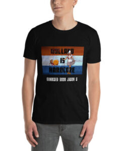 Holland is Hardcore T-shirt Black